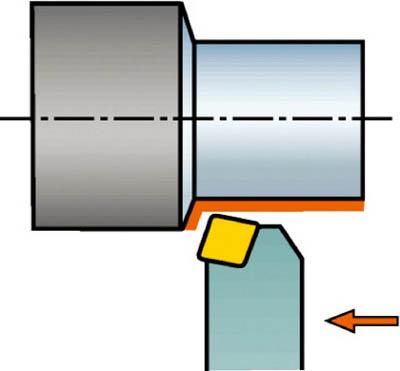 サンドビック T-Max セラミックチップ用シャンクバイト CCBNR 3225P 16-4 [A071727]
