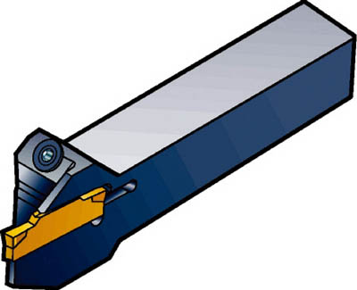 サンドビック コロカット1・2 小型旋盤用突切り・溝入れシャンクバイト LF123D11-1212B-S [A071727]