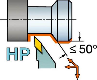 【★店内最大P5倍!★】サンドビック QSホールディングシステム コロターン107用HPバイト QS-SVJCL1616E11HP [A071727]