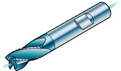 サンドビック コロミルプルーラ 超硬ソリッドエンドミル 1640 COAT R215.34C08050-BC19P 1640 [A071727]