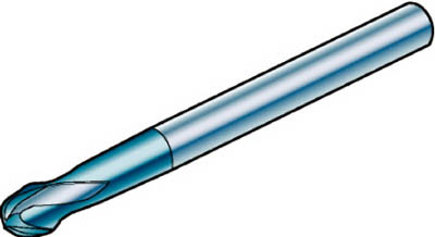 サンドビック コロミルプルーラ 超硬ソリッドエンドミル 1610 COAT R216.62-16030-AO15G 1610 [A071727]