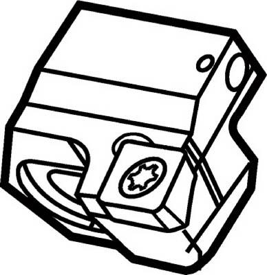 サンドビック コロボア820 スライド R820H-BR36DCLN16A [A071727]