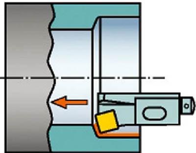 サンドビック コロターン107 ポジチップ用カートリッジ SSKCR 10CA-09-M [A071727]