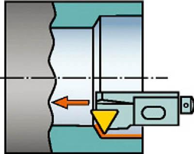 サンドビック コロターン107 ポジチップ用カートリッジ STWCR 10CA-11-B1 [A071727]
