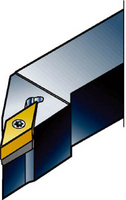 サンドビック コロターン107 小型旋盤用シャンクバイト SVJBR0810K11-S-B1 [A071727]