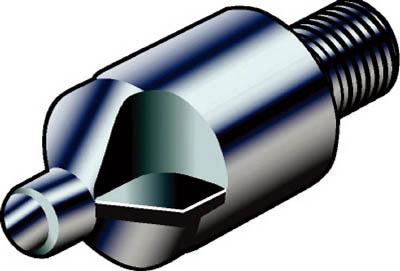 サンドビック コロドリル452 PCD面取り穴ドリル CD10 ダイヤ 452.C1-0791-100T-C CD10 [A080115]