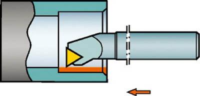 独特の上品 サンドビック 個人宅 T-Max P ネガチップ用ボーリングバイト A25T-PTFNR 11 A071727, でじたみん 7e26563b