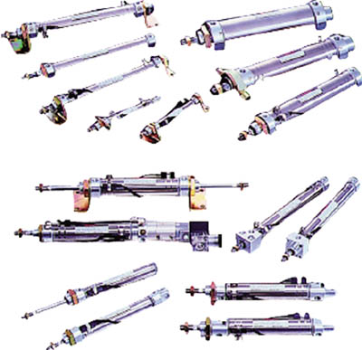 TAIYO 空気圧シリンダ 10Z-3SK63B25-AH2 [A092321]