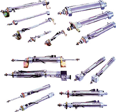 TAIYO 空気圧シリンダ 10Z-3SP63B25-AH2 [A092321]
