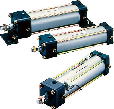 TAIYO 空気圧シリンダ 10A-2FA100B450-F [A092321]