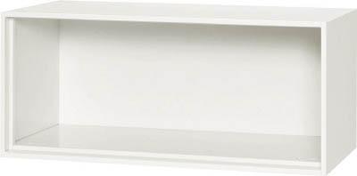 【◆◇スーパーセール!最大獲得ポイント19倍!◇◆】ダイシン工業 壁面収納庫 オープン型 上置き専用D450 ホワイト V945-04K [F012202]