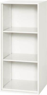 ダイシン工業 壁面収納庫 オープン型 上下兼用W450 ホワイト V445-10K [F012202]