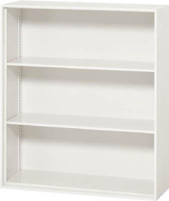 ダイシン工業 壁面収納庫 オープン型 上下兼用D310 ホワイト V930-10K [F012202]