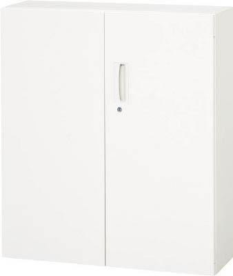 ダイシン工業 【個人宅不可】 壁面収納庫 両開き型 下置き専用D310 ホワイト V930-11H [F012202]