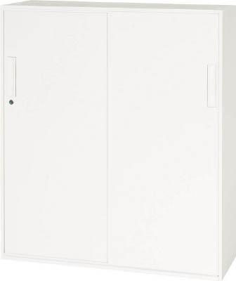【◆◇エントリーで最大ポイント5倍!◇◆】ダイシン工業 【代引不可】【直送】 壁面収納庫 引戸型 下置き専用D310 ホワイト V930-11S [F012400]