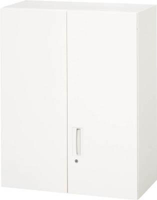 【◆◇スーパーセール!最大獲得ポイント19倍!◇◆】ダイシン工業 【個人宅不可】 壁面収納庫 両開き型 上置き専用W800 ホワイト V840-10H [F012202]