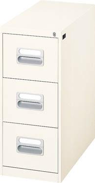 ダイシン工業 【代引不可】【直送】 カードキャビネット A5-3段1列引出し型 ニューグレー A5-13.76N [F010503]