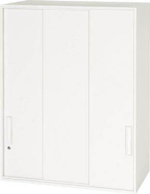 【◆◇エントリーで最大ポイント5倍!◇◆】ダイシン工業 【代引不可】【直送】 壁面収納庫 3枚引戸型 上置き専用W800 ホワイト V840-10TS [F012400]