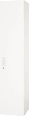 【◆◇エントリーで最大ポイント5倍!◇◆】ダイシン工業 【代引不可】【直送】 壁面収納庫 両開き型 下置き専用W450 ホワイト V440-21H [F012400]