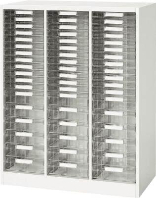 ダイシン工業 【個人宅不可】 壁面収納庫 A4レターケースコンビ型 下置き専用W800 ホワイト V840-11PSDA [F012202]
