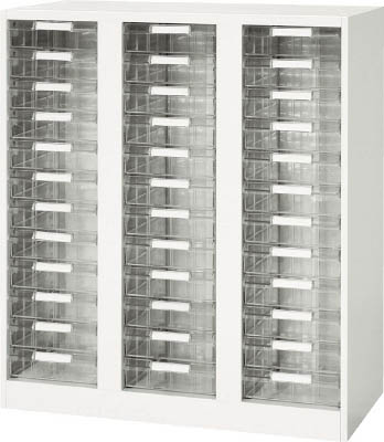 ダイシン工業 【個人宅不可】 壁面収納庫 A4レターケース型 下置き専用D400 ホワイト V940-11PDA [F011212]
