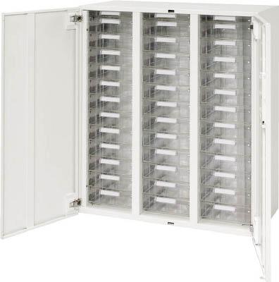 ダイシン工業 【個人宅不可】 壁面収納庫 両開きレターケース型 下置き専用D450 ホワイト V945-11HPDA [F011212]