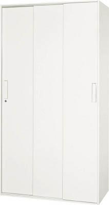 【◆◇エントリーで最大ポイント5倍!◇◆】ダイシン工業 【代引不可】【直送】 壁面収納庫 3枚引戸型 下置き専用D450 ホワイト V945-18TS [F012400]