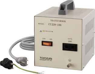 豊澄電源機器 CU-S国内シリーズ 100V対220V 600VA CU220-06S [A072121]