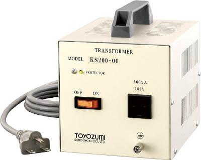 豊澄電源機器 KS国内設備シリーズ 200V対100V 600VA KS200-06 [A072121]