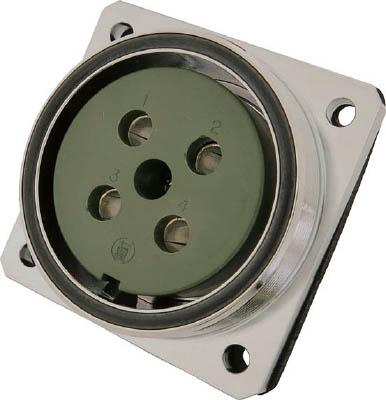 七星科学研究所 防水メタルコネクタ NWPC-60シリーズ 10極 RF NWPC-6010-RF [A072121]