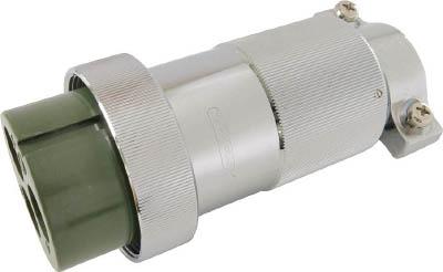 七星科学研究所 防水メタルコネクタ NWPC-60シリーズ 2極 P37 NWPC-602-P37 [A072121]