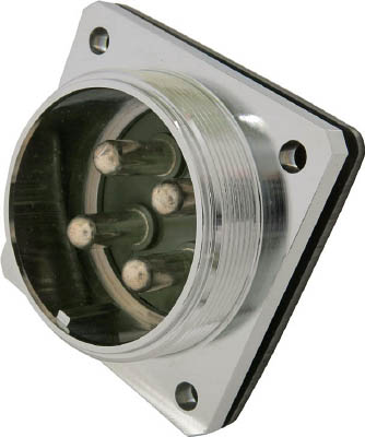 七星科学研究所 防水メタルコネクタ NWPC-60シリーズ 4極 R NWPC-604-R [A072121]
