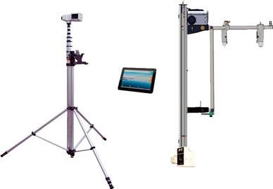 日立アプライアンス 橋梁点検ロボットカメラ 懸垂型+高所型 PC付き HV-HT3000TB-U/D [A061902]