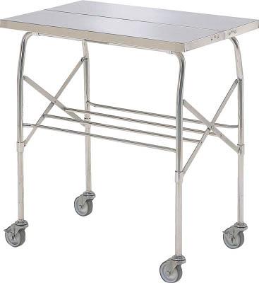 本庄厨房機器製作所 【個人宅不可】 マイティー 折りたたみ式ステンレステーブル 900x600 スチールキャスター VC-3E [A130110]