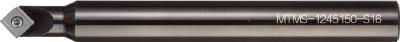 【10日限定☆カード利用でP14倍】丸一切削工具 THE CUT スーパー面取り丸ZERO 45° MTMS1245150-S16 12X45X150L [A080112]