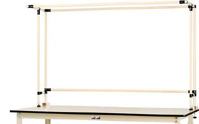 山金工業 【個人宅不可】 ヤマテック ワークテーブルスタンド 基本形 SWK-1500K [A130110]
