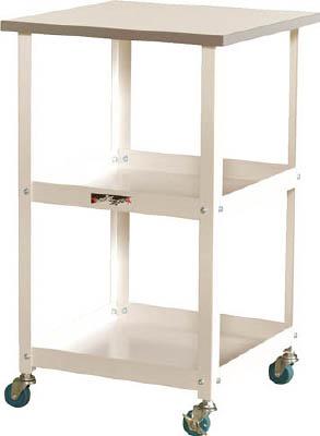 山金工業 【個人宅不可】 ヤマテック ワークテーブル150シリーズ 天板付150ワゴン HTC-4545W [A130110]
