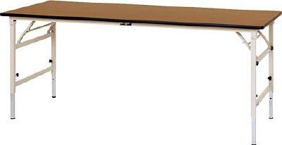 山金工業 【個人宅不可】 ヤマテック ワークテーブル 折りタタミ高さ調整タイプ STPA-960-MI [A130110]