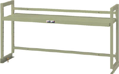 【20日限定☆カード利用でP14倍】山金工業 ヤマテック ワークテーブル架台 棚板1段タイプ WK-1500-G [A130110]
