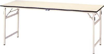 山金工業 【個人宅不可】 ヤマテック ワークテーブル 折りタタミタイプ STP-1260-II [A130110]