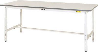 山金工業 ヤマテック ワークテーブル150シリーズ 高さ調整タイプ SUPA-660-WW [A130110]