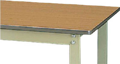 山金工業 【個人宅不可】 ヤマテック ワークテーブル300シリーズ 固定式 中間棚付 SWP-660S1-MG [A130110]