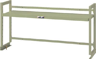山金工業 【個人宅不可】 ヤマテック ワークテーブル架台 棚板1段タイプ WK-1800-G [A130110]