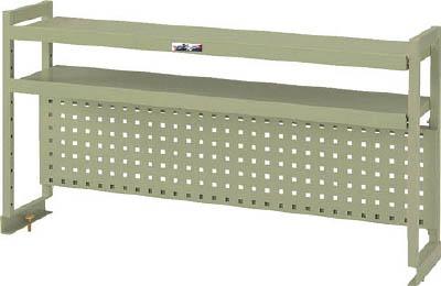 山金工業 【個人宅不可】 ヤマテック ワークテーブル架台 棚板2段+パンチングパネルタイプ WKP2-900-G [A130110]