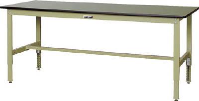 【◆◇エントリーで最大ポイント5倍!◇◆】山金工業 【代引不可】【直送】 ヤマテック ワークテーブル300シリーズ 高さ調整タイプ SWRA-660-GG [A130110]