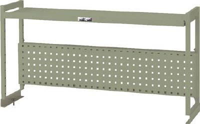 山金工業 【個人宅不可】 ヤマテック ワークテーブル架台 棚板1段+パンチングパネルタイプ WKP-1500-IV [A130110]