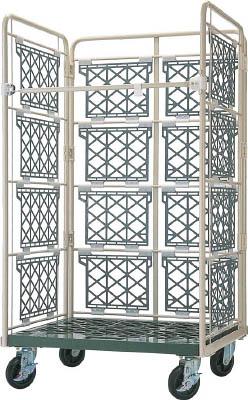 ヤマト・インダストリー 【個人宅不可】 L型ロールコンビテナー (ジョイント樹脂製) R50 [A130528]