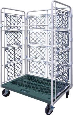 ヤマト・インダストリー 【個人宅不可】 L型ロールコンビテナー (ジョイント樹脂製) R80 [A130528]