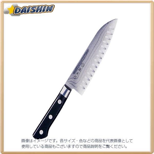 藤寅作 三徳 170mディンプル付 料理包丁 FU-507D [D012101]