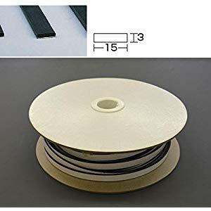 光 アイテック スポンジドラム巻粘着付3×15mm×50M KS315-50TW-T [A230101]